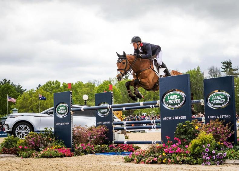 EVENTING:  Townend and Cooley Master Class (ISH) make history in Kentucky