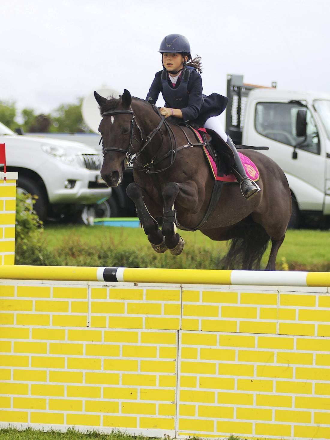 Irish pony riders fly the flag in Lichtenvoorde