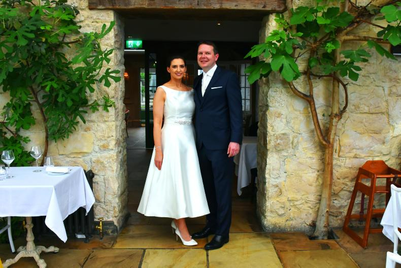 PONY TALES:  Wedding bells for Mark and Eimear!