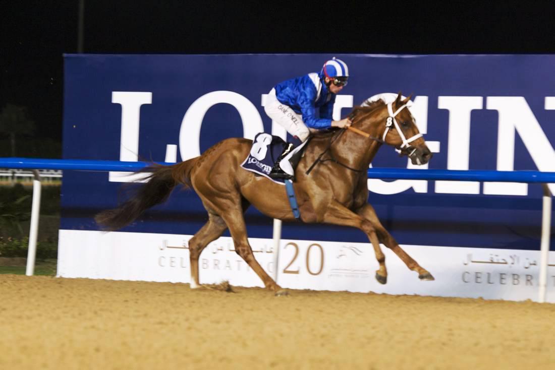 Sparkling treble for Watson at Meydan