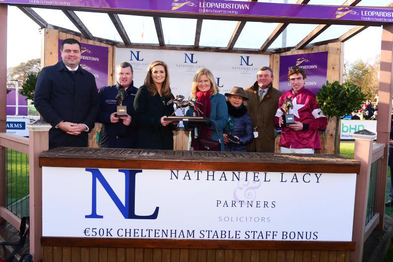 BREEDING INSIGHTS: Coghlan on hand to salute Commander