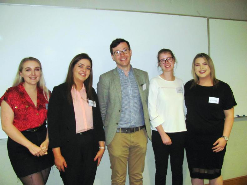 AROUND THE COUNTRY:   Top marks for Limerick University students