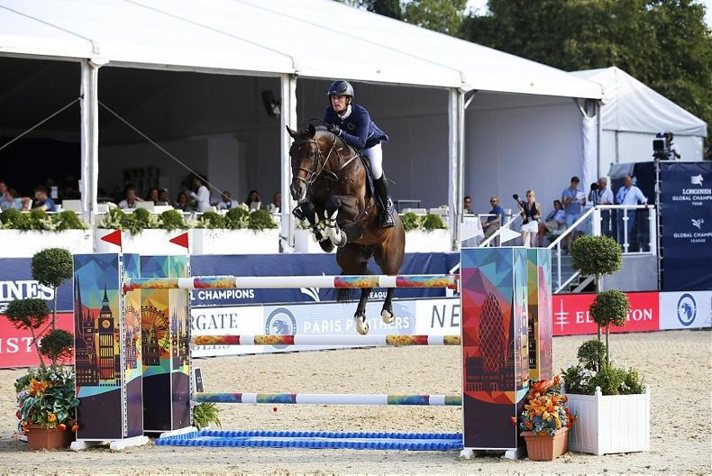 SHOW JUMPING: Kenny second in Shanghai showpiece