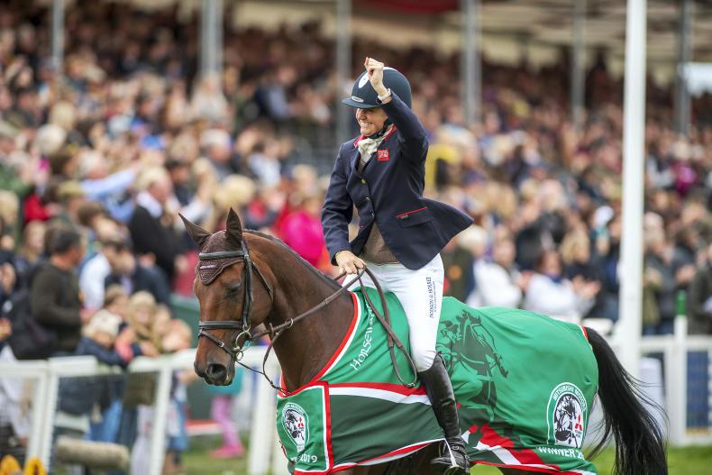 BADMINTON 2019: Piggy French wins her first Badminton on Irish-bred horse