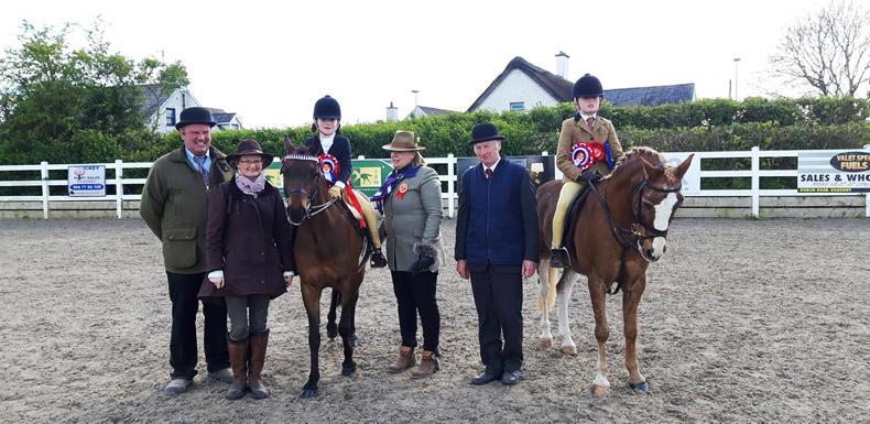 AROUND THE COUNTRY:  Mini ponies out in force at IPS Spring Show