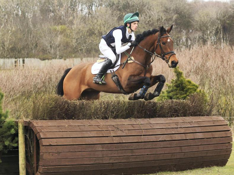EVENTING:  Daniels makes it a one-two in feature