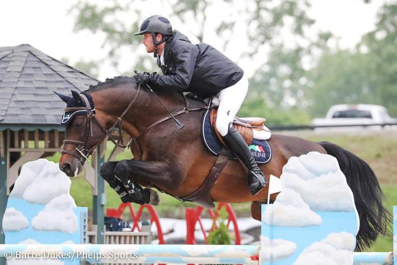 SHOW JUMPING:  Kenny takes top two spots at Kentucky Spring Horse Show