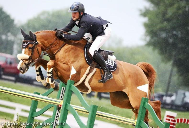 SHOW JUMPING:  Kenny and Babalou bounce back to win Kentucky Grand Prix
