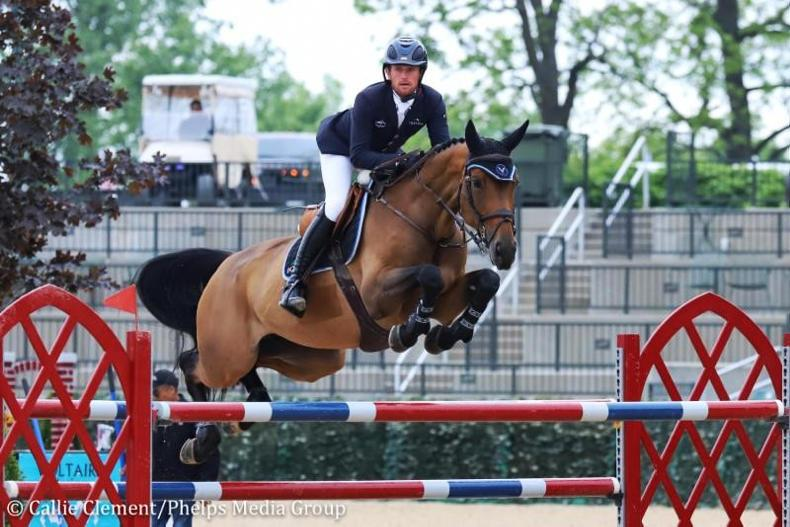 SHOW JUMPING: Kenny's winning streak continues