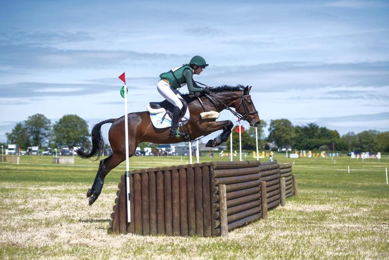 EVENTING:  Stammschroer times it right on Master Swatch