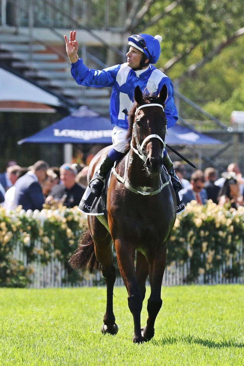 AUSTRALIA: Spright lands first Group 1