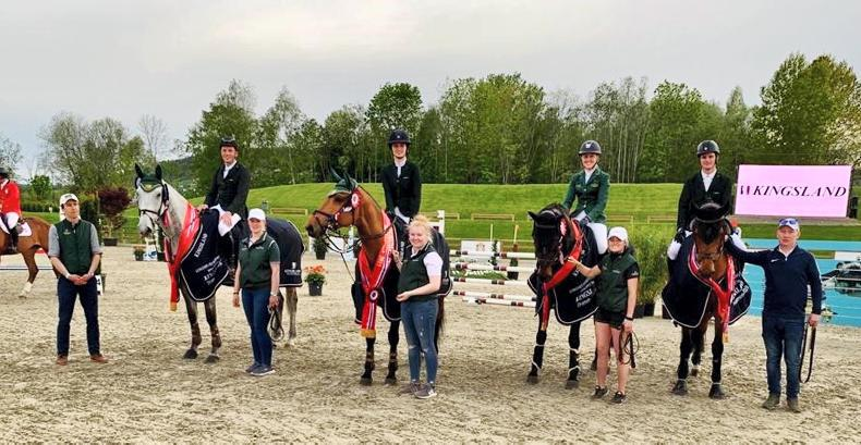 Brilliant went for Ireland in Drammen Nations Cup
