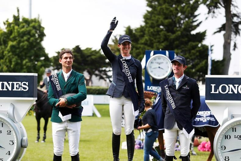 SHOW JUMPING:  Kenny third in €200,000 La Baule Grand Prix