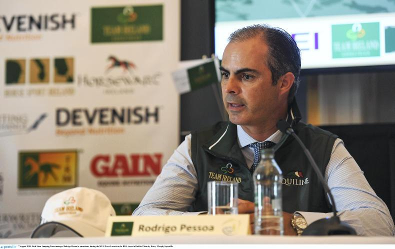 SHOW JUMPING:  Pessoa names Nations Cups squads