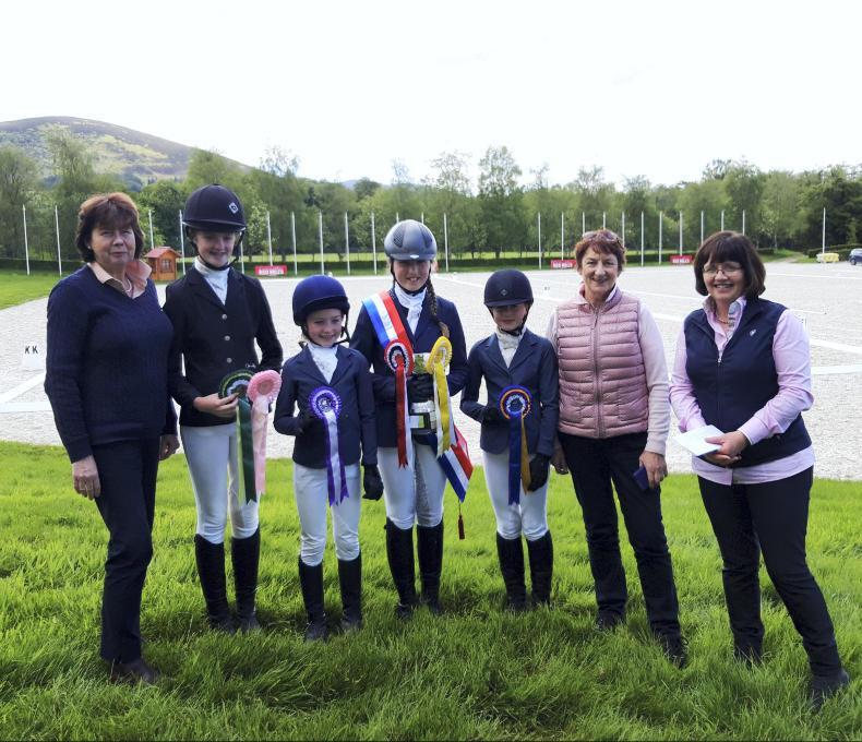 AROUND THE COUNTRY:  Dressage riders out in force at Millstreet