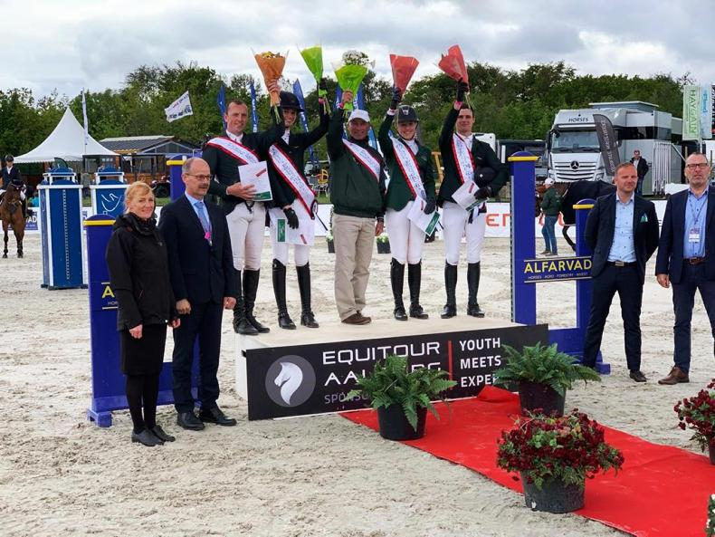 SHOW JUMPING:  Young 'dream team' score another Nations Cup win