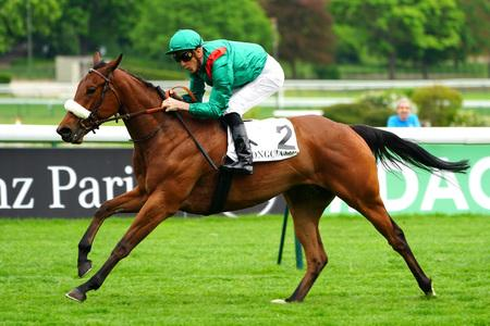 Siyarafina lifts Group One honours in Prix Saint Alary