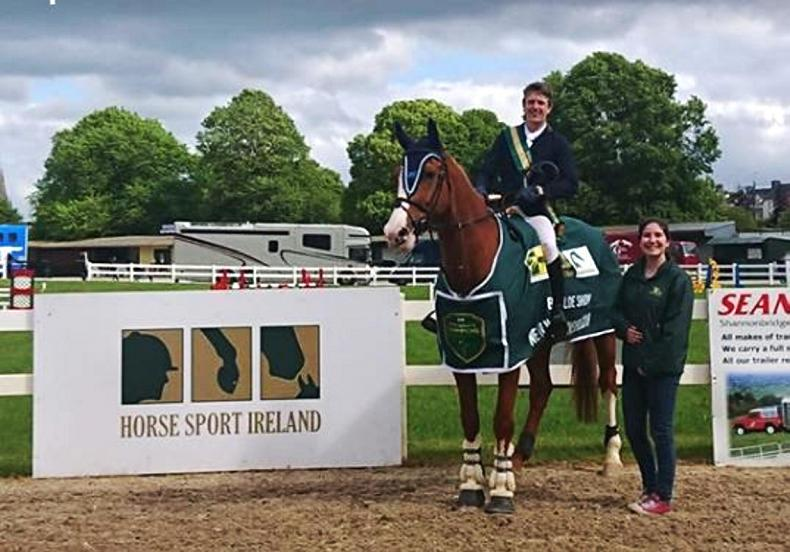 SHOW JUMPING: Jonathan Smyth wins at New Heights Champions Series in Ballinasloe