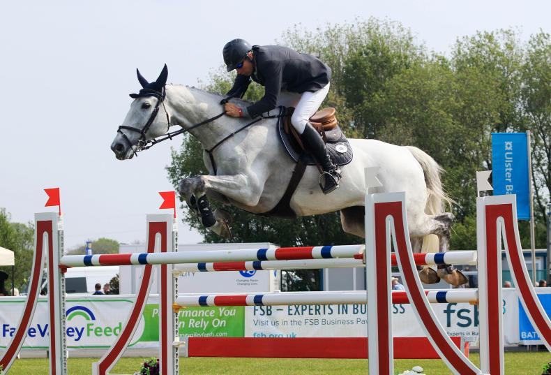 BALMORAL SHOW JUMPING:  Speedy Smith is Simply splendid