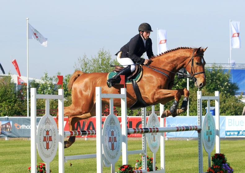 BALMORAL SHOW JUMPING:  Wiedum delivers for Hearne