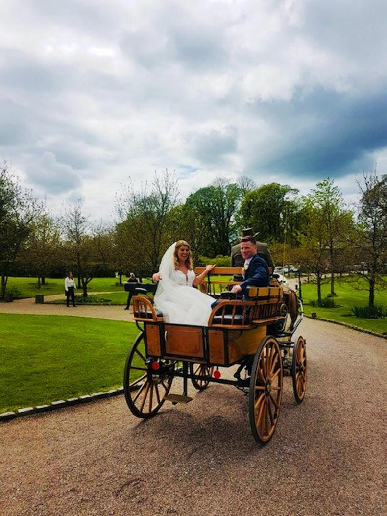 PONY TALES:  Wedding joy for Sarah Jane and Peter!