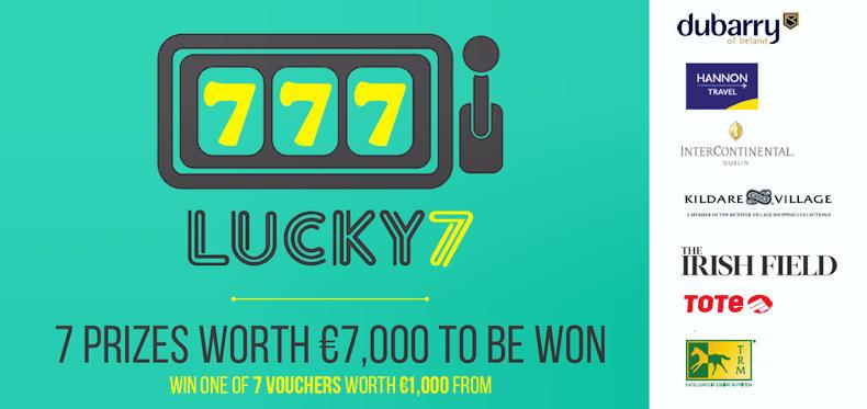 LUCKY 7: There's €7,000 worth of prizes to be won!