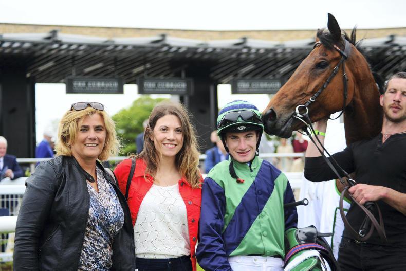MARGIE McLOONE: Natalia enjoys Curragh success
