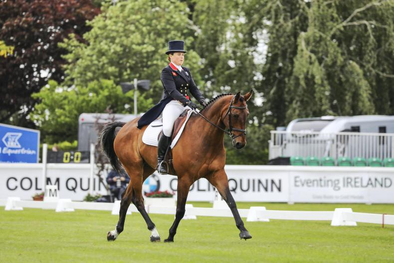 TATTERSALLS: Funnell leading The Irish Field CCI4*-L after dressage phase