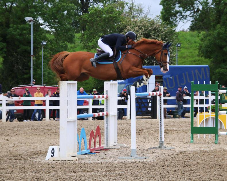 SHOW JUMPING: Smyth wins first 1.50m in Ballinasloe