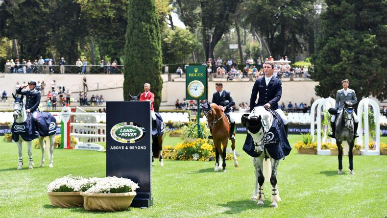INTERNATIONAL: McAuley crowned leading rider in Rome