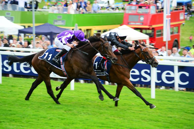 BRITAIN: Another Oaks win for Gosden with gallant Anapurna
