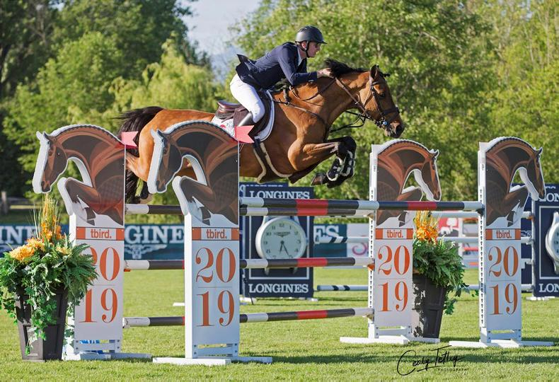 SHOW JUMPING:  Coyle wins $36,500 Canadian class