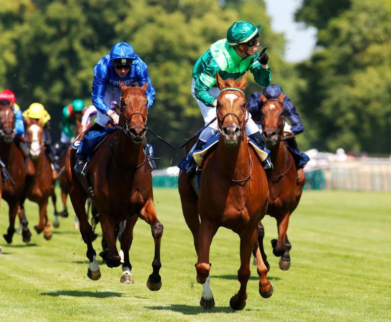 FRANCE:  Sottsass sizzles in Jockey Club