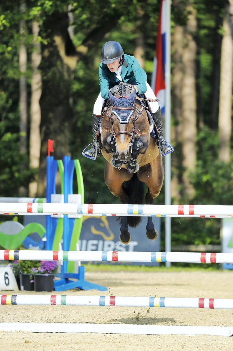 INTERNATIONAL: Pony team runners-up in Wierden