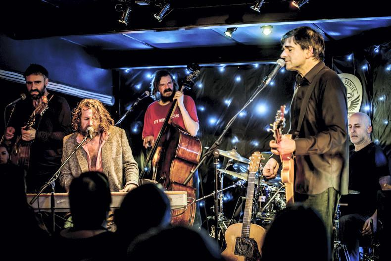 PARROT MOUTH: Don't miss Hothouse Flowers at Cork