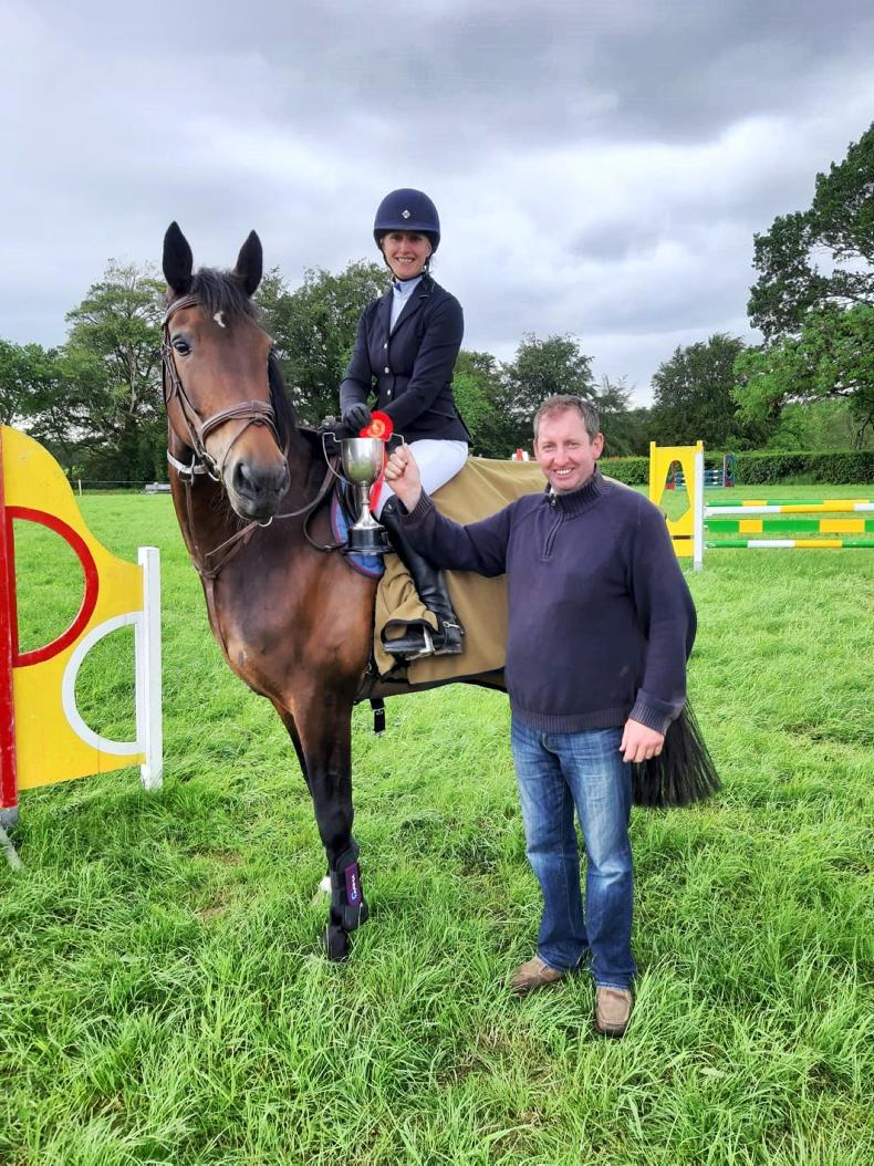 PONY TALES:  All smiles at Mallow Gymkhana!