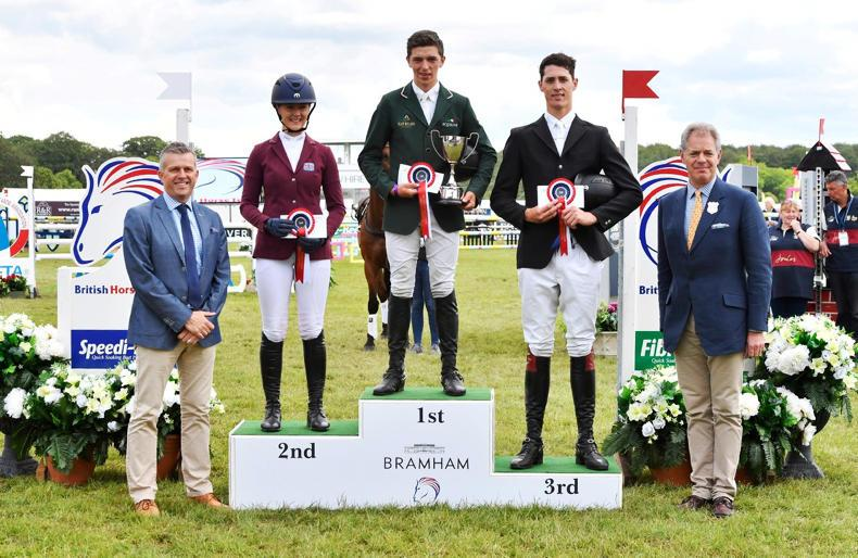 EVENTING:  Daniels lands Bramham win