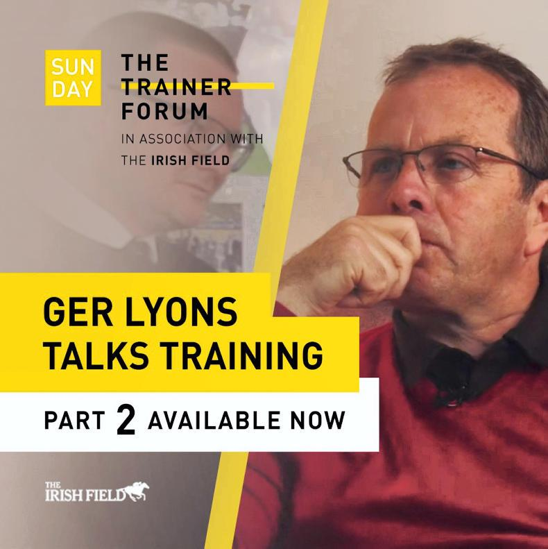 WATCH: Exclusive Ger Lyons interview (Part 2)