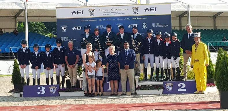 SHOW JUMPING: Moloney fifth in Poland and Irish Pony Team win in Germany
