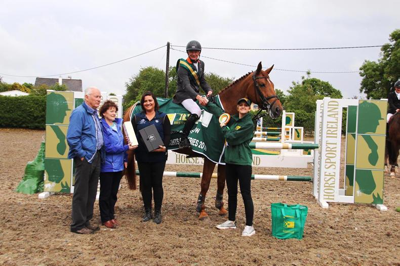Connors wins Galway leg of TRM/Horse Sport Ireland New Heights Champions Series