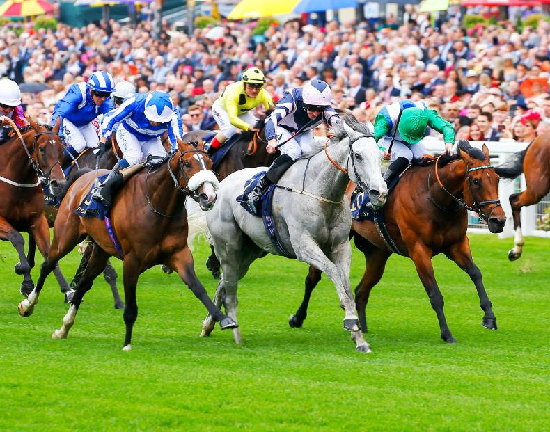 SIMON ROWLANDS: Lord Glitters deserving winner