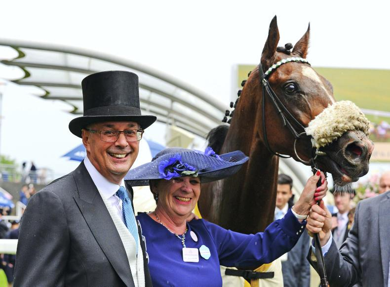 Dashing success for Murphy and Balding in Queen's Vase
