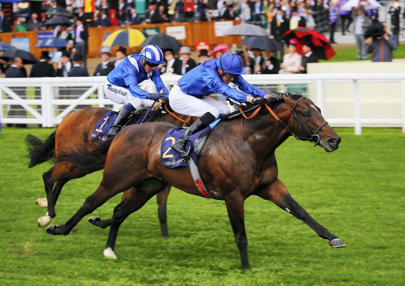 ROYAL ASCOT TUESDAY: Take two: Point makes another Stand