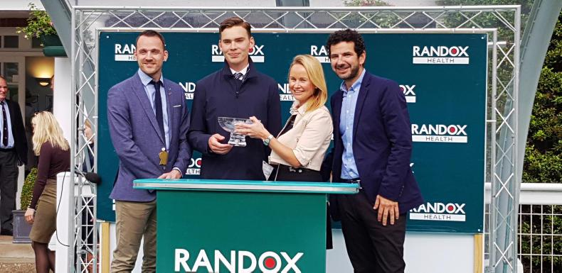 VIEW FROM ABOVE: Continued support from Randox
