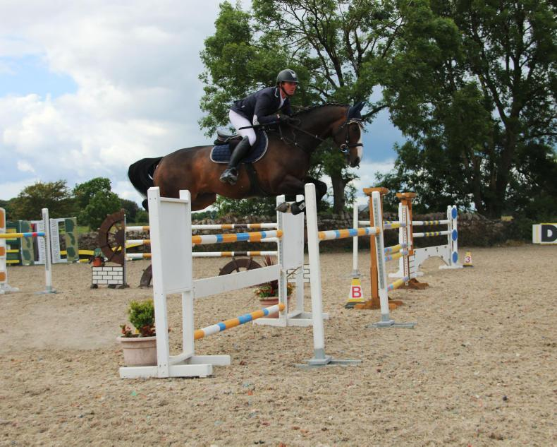 SHOW JUMPING: Small Change for Kerins