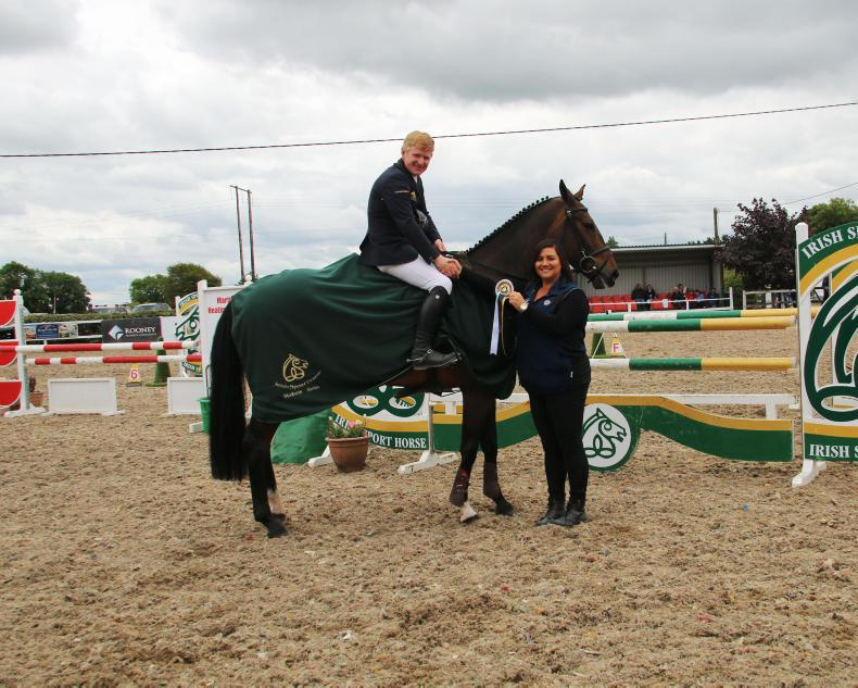 SHOW JUMPING: Wins for McConnell and Goggins