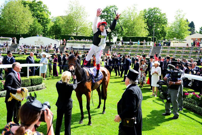 ROYAL ASCOT:  THE FRANKIE FACTOR