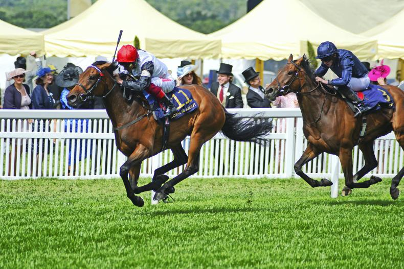 ROYAL ASCOT THURSDAY: Star Catcher sees it out well