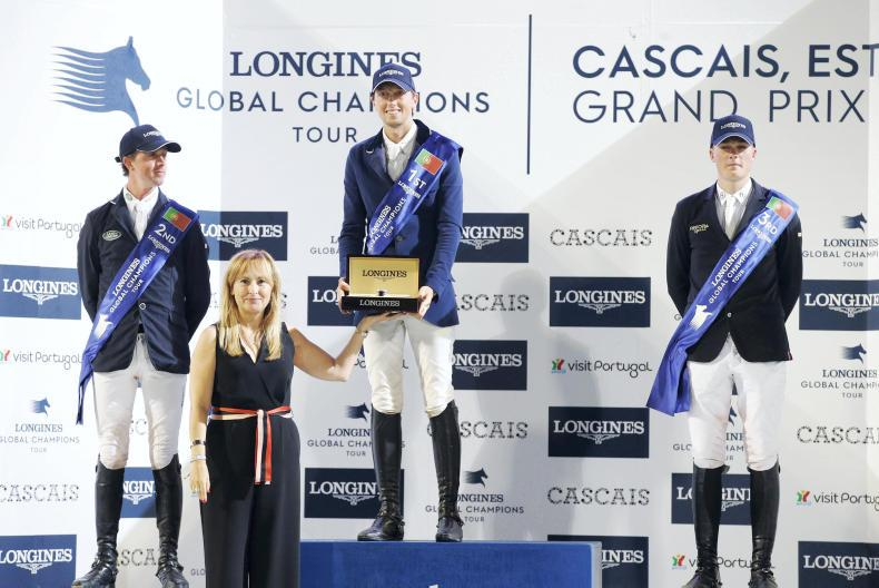 SHOW JUMPING:  Duffy third in €300,000 Grand Prix