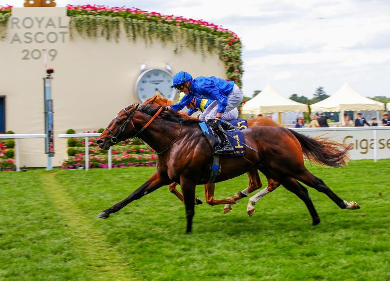 ROYAL ASCOT: Brilliant Blue makes it two